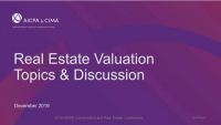 Valuation Topics and Discussion