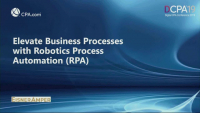 Elevate Business Processes with RPA