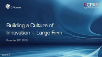 Building Innovation Culture
