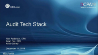 Audit Tech Stack