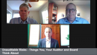 Unauditable Risks - Things You, Your Auditor and Board Think About