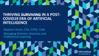 PFP2008. Thriving in an post-COVID19 Era of Artificial Intelligence