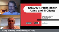 ENG2001. Aging and Long Term Illness (EST, PFP)
