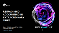 ENG20K02. ENGAGE Keynote - Reimagining Accounting in Extraordinary Times