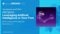 PST2012. Leveraging Artificial Intelligence in Your Firm