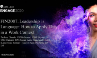 FIN2007. Leadership is Language: How to Apply This in a Work Context