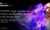 FIN2009. Trends Transforming Finance and Accounting Business in the Decade Ahead