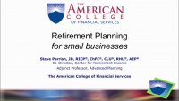 TAX2010. Retirement Planning