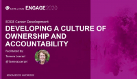 EDG2008. Developing a Culture of Ownership and Accountability