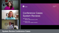 System Review Conference Cases