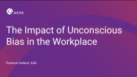 ENG301 The Impact of Unconscious Bias in the Workplace