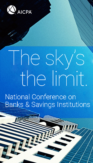 AICPA National Conference on Banks & Savings Institutions 2020