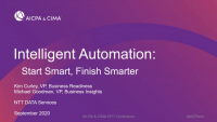 Intelligent Automation – Start Smart, Finish Smarter