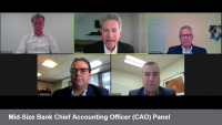 Mid-Size Bank Chief Accounting Officer (CAO) Panel