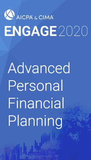Advanced Personal Financial Planning (as part of ENGAGE 2020)