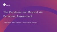 Welcome & Introduction | The Pandemic and Beyond: An Economic Assessment