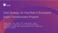 Data Strategy: Its Vital Role in Successful Digital Transformation Projects