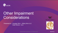 Other Impairment Considerations