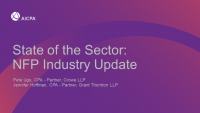 State of the Sector: NFP Industry Update
