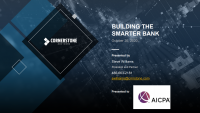Building the Smarter Bank: The Opportunity for Credit Unions