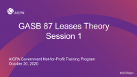 Leases: Preparing for the Single Model (Theory) - Part 1