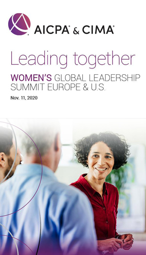 AICPA & CIMA Women's Global Leadership Summit 2020 - Europe & USA