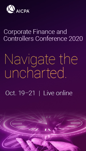 AICPA Corporate Finance and Controllers Conference 2020