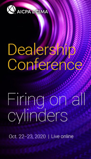 AICPA Dealership Conference 2020