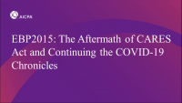 The Aftermath of CARES Act and Continuing the COVID-19 Chronicles