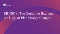 The Good, the Bad, and the Ugly of Plan Design Changes