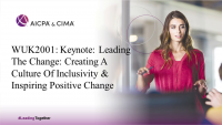 Keynote: Leading The Change: Creating A Culture Of Inclusivity & Inspiring Positive Change (12pm BST)