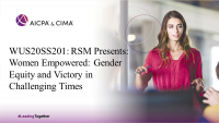 RSM Presents: Women Empowered: Gender Equity and Victory in Challenging Times (5pm BST)