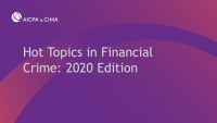 Hot Topics in Financial Crime: 2020 Edition