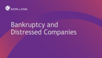 Bankruptcy and Distressed Companies