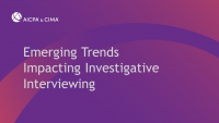 Emerging Trends Impacting Investigative Interviewing