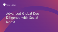 Advanced Global Due Diligence with Social Media