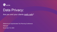 Data Privacy: Are You and Your Clients Really Safe?