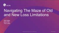 Navigating The Maze of Old and New Loss Limitations