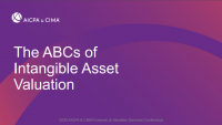ABCs of Intangible Asset Valuation