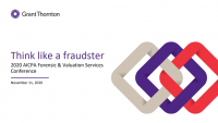 How to Think Like a Fraudster