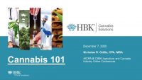 Welcome and Introduction | Cannabis 101