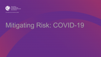 Mitigating Risk: COVID-19