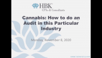 Cannabis: How to do an Audit in this Particular Industry