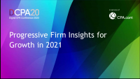 Progressive Firm Panel: Insights for 2021