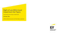 Right-of-use (ROU) Asset Impairment Hot Topics - Accounting and Fair Value Considerations