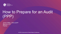 How to Prepare for an Audit (PPP)