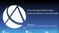 Uncovering Opportunities to Boost Quality and Efficiency in your EBP Audits - Presented by CPA.Com