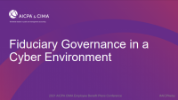 Fiduciary Governance in a Cyber Environment