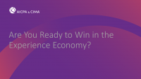 Are You Ready to Win in the Experience Economy?