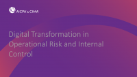 Digital Transformation in Operational Risk and Internal Control